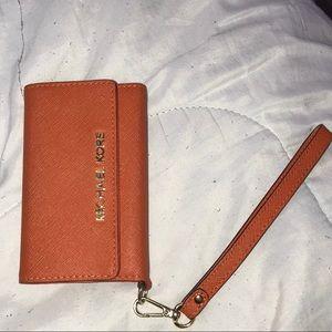 MICHAEL KORS wallet iPhone 5 case🧡